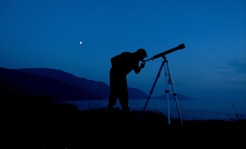 Stargazing on the Isle of Man